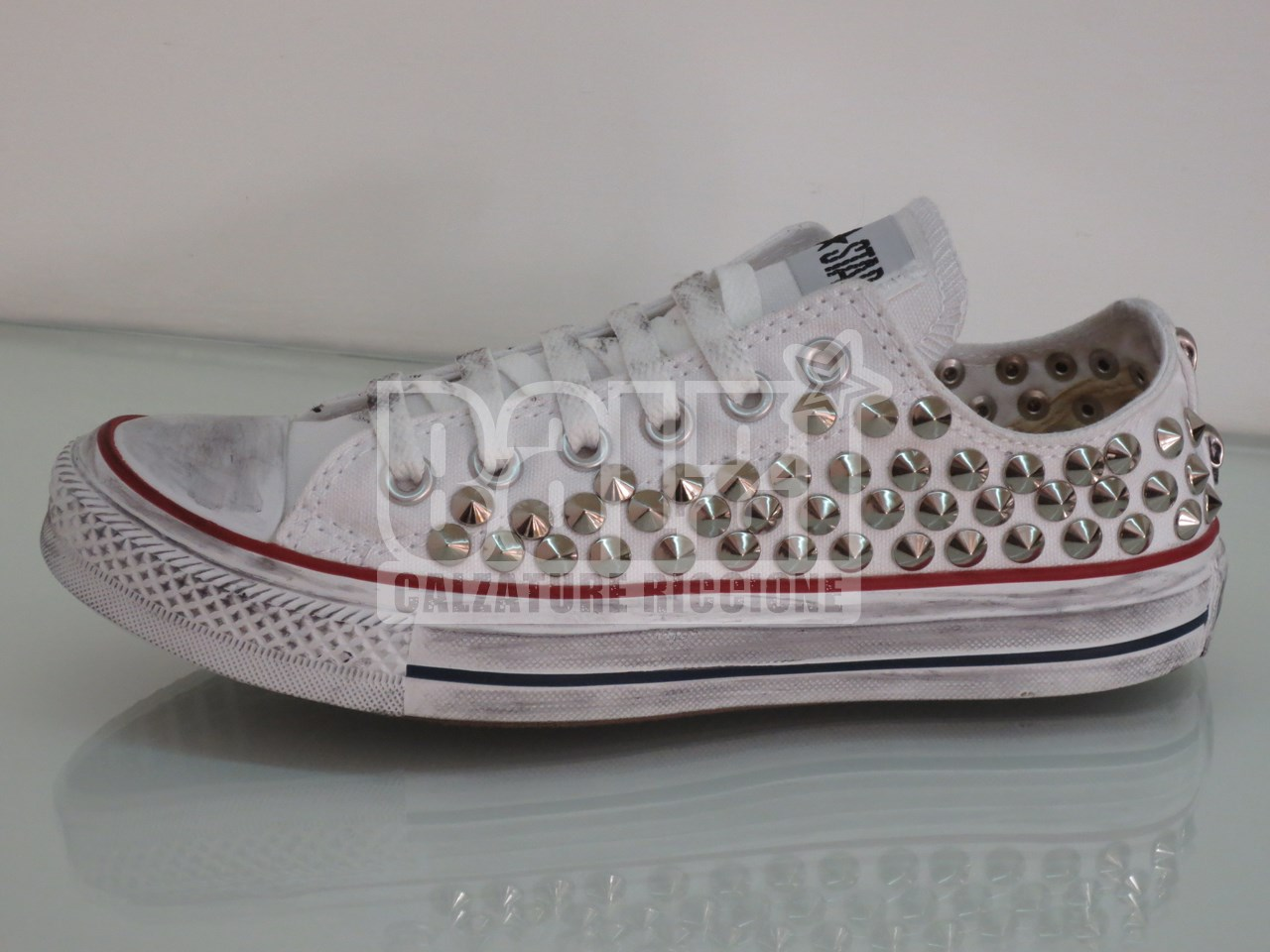 converse all star bianche basse