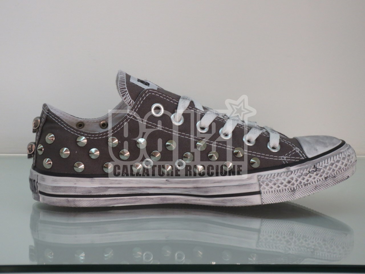 2converse all star basse grigio
