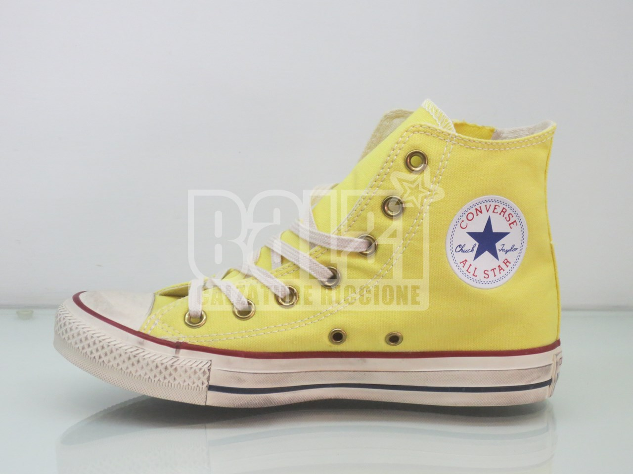 converse all star alte gialle