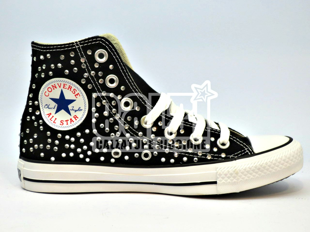 all star converse nere platform