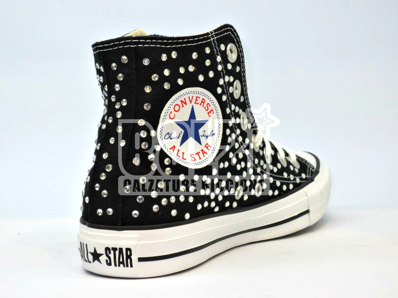 converse all star nere bianche