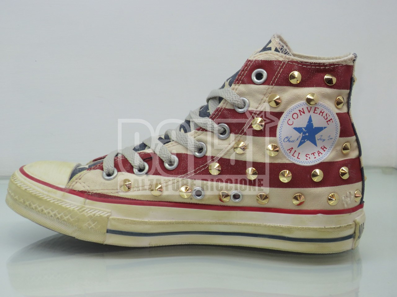 all star converse bandiera