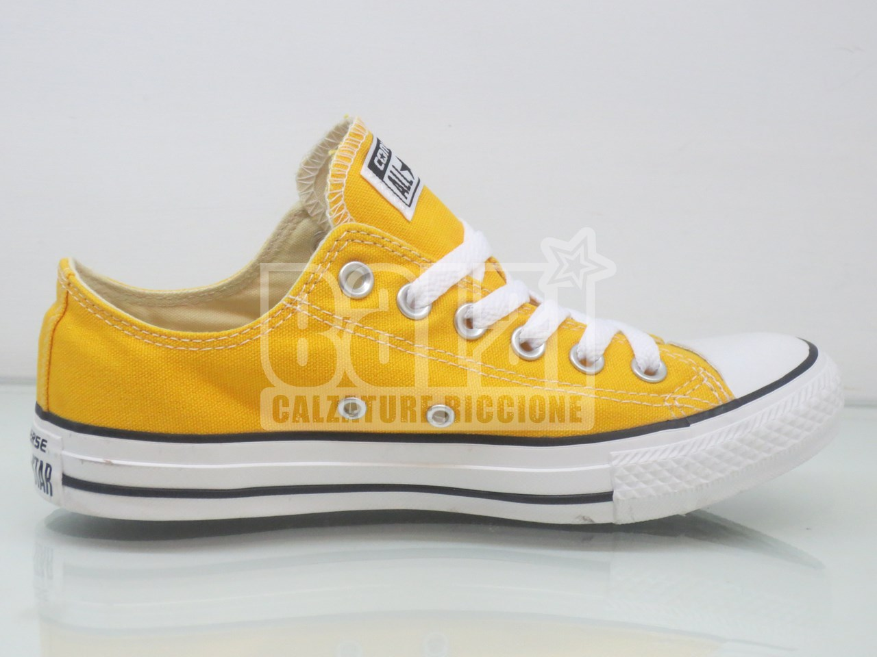 converse all star basse gialle