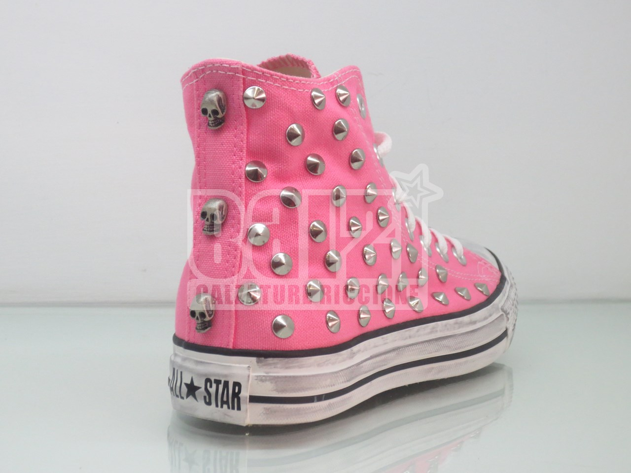 converse all star alte donna rosa