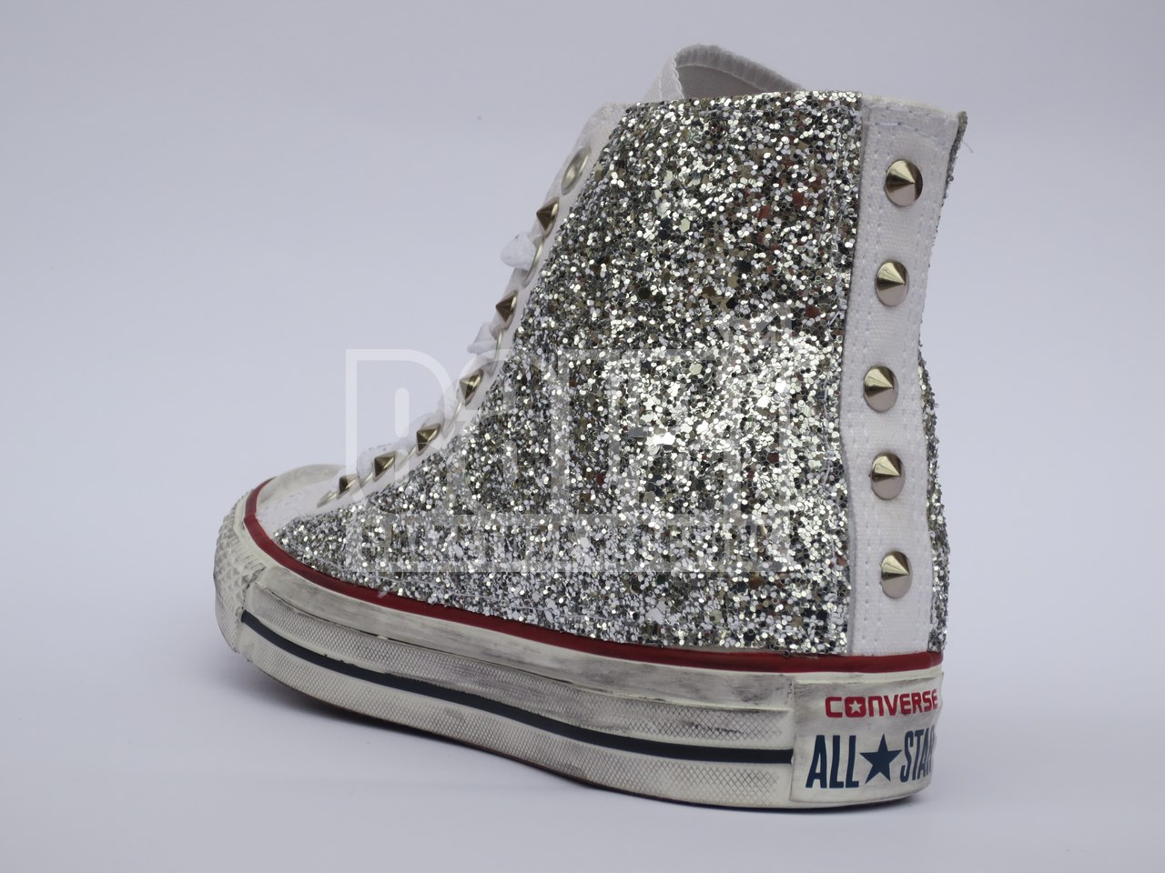 scarpe converse donna brillantini