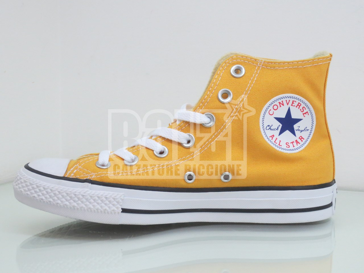 converse all star gialle basse
