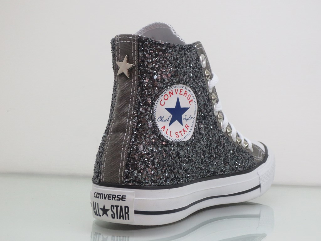 converse all star glitter donna