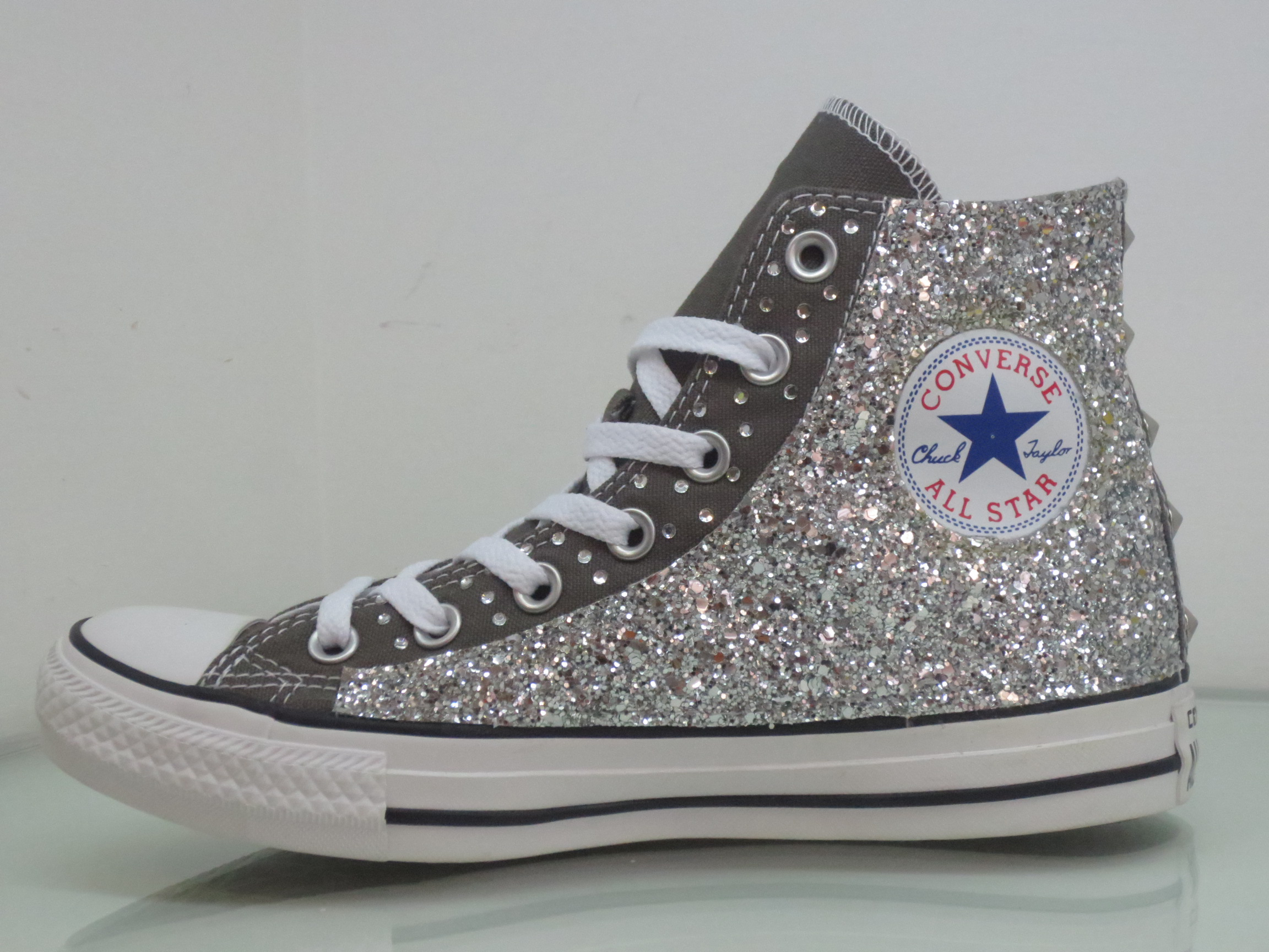 converse all star donna basse grigio