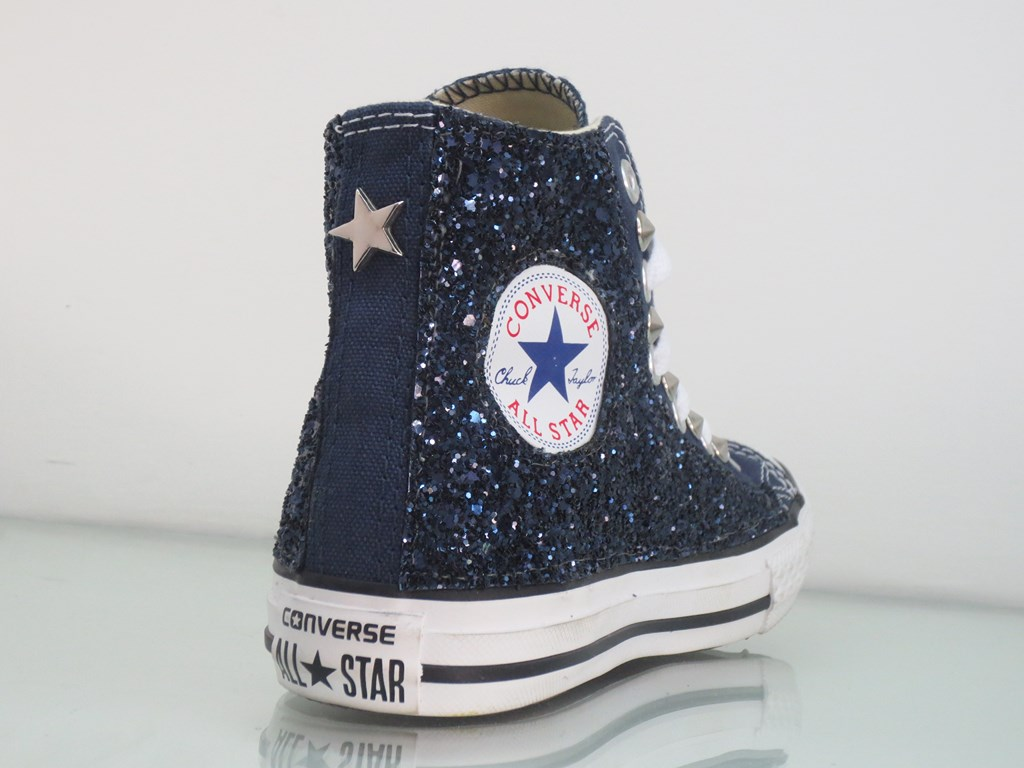 2converse all star donna brillantini