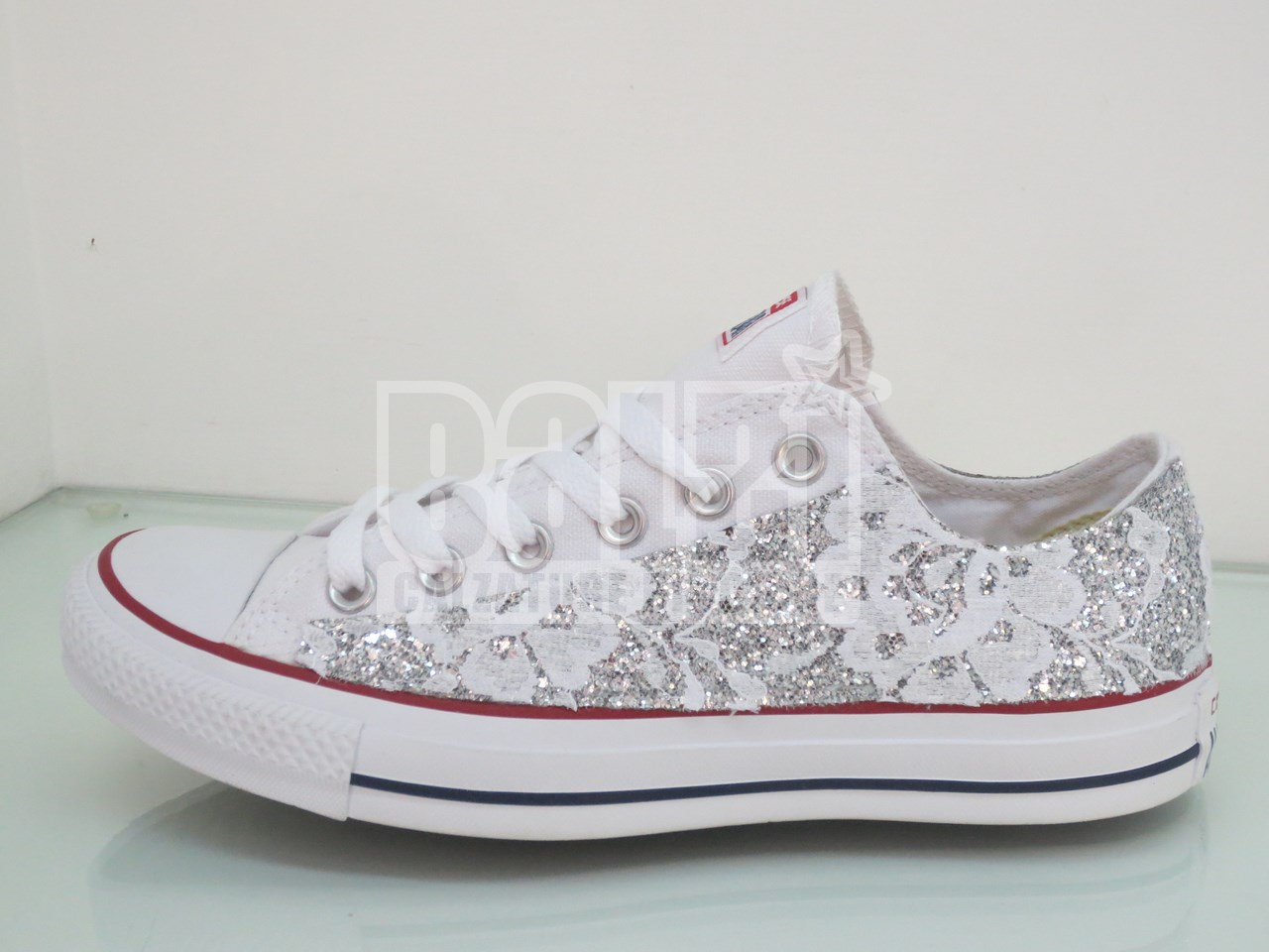 converse all star argento bimba