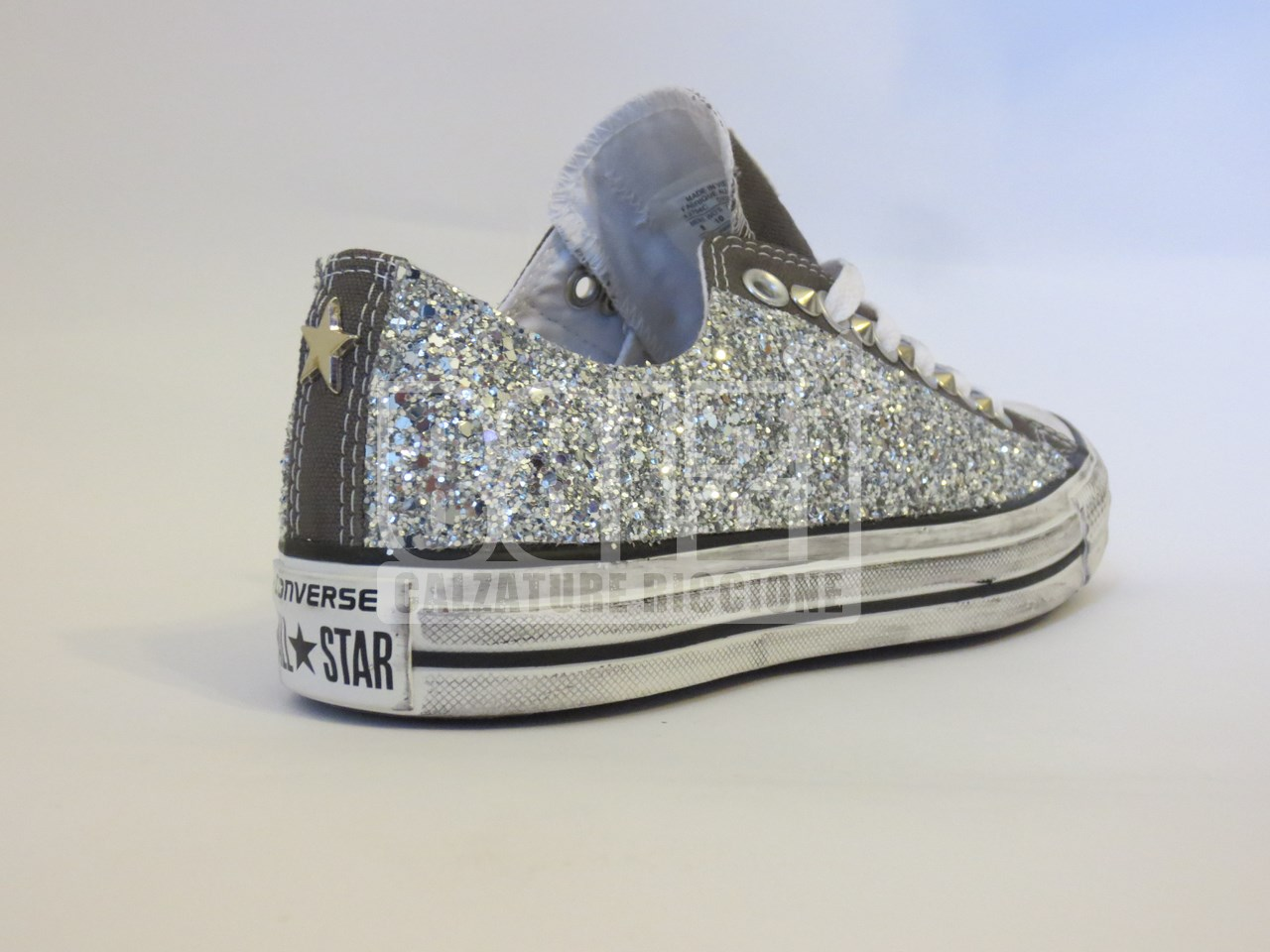 converse all star basse grigie