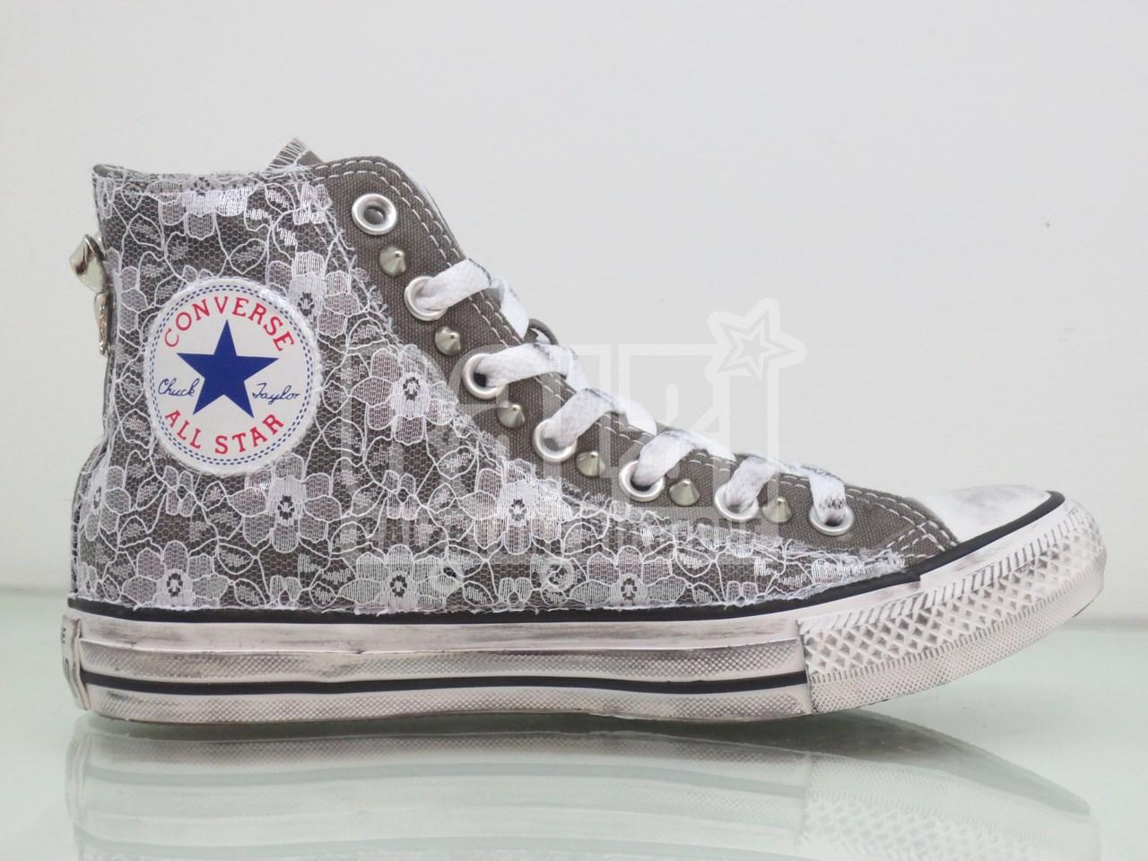 Converse All Star Grigio Vintage