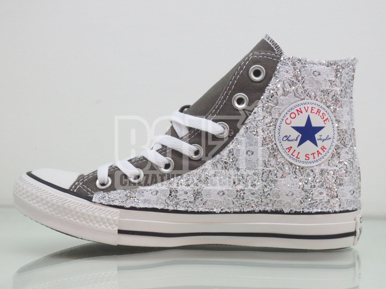 all star converse alte donna bianche