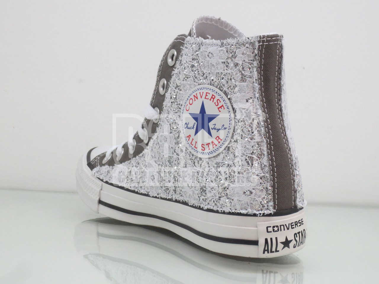 converse donna pizzo argento