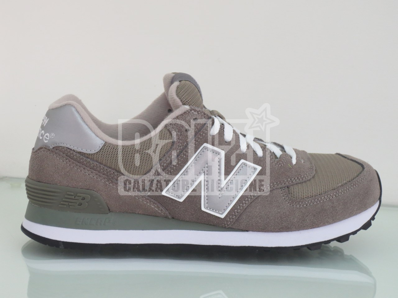 new balance ml574 grigio