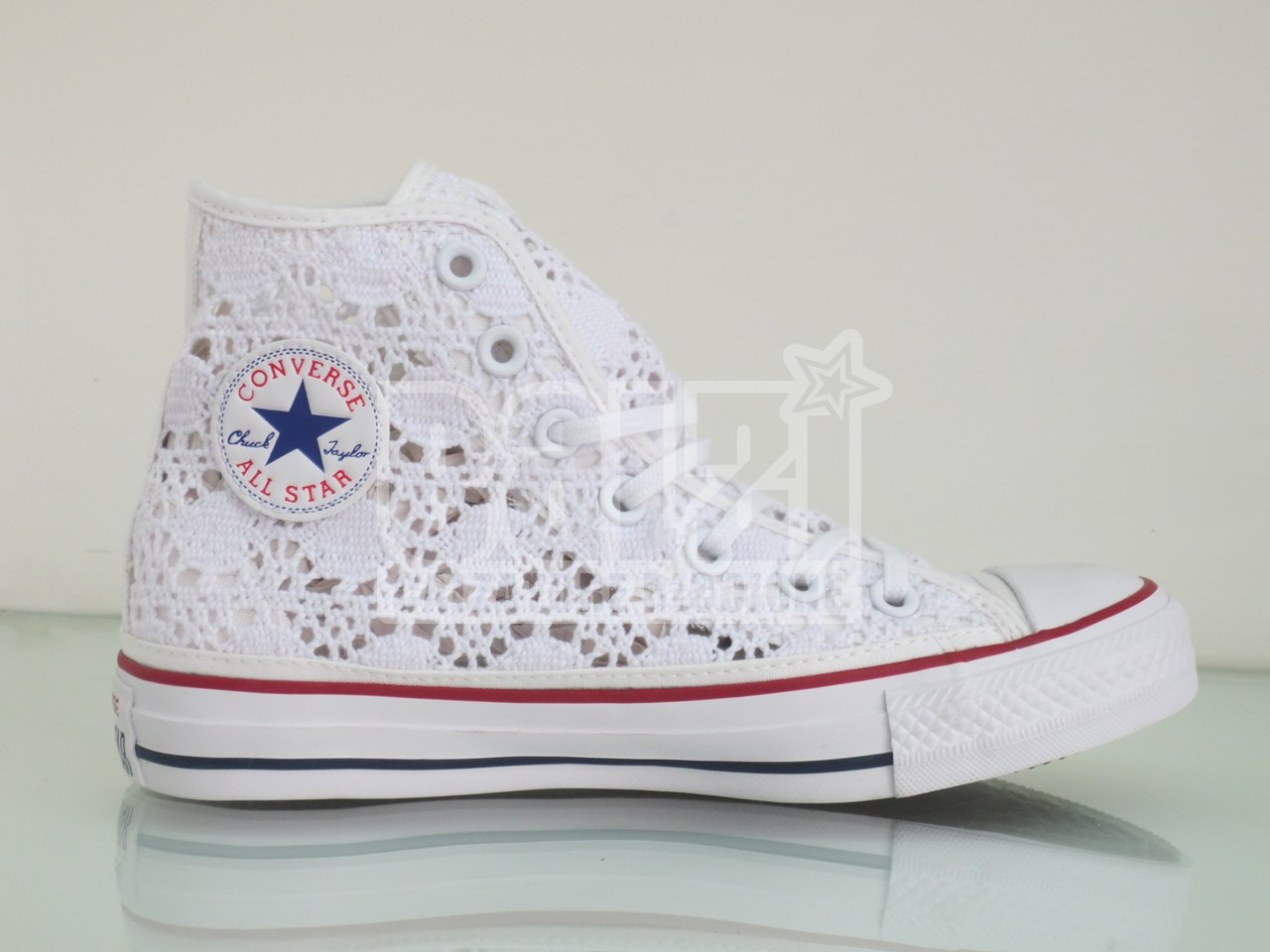 converse all star bambina pizzo