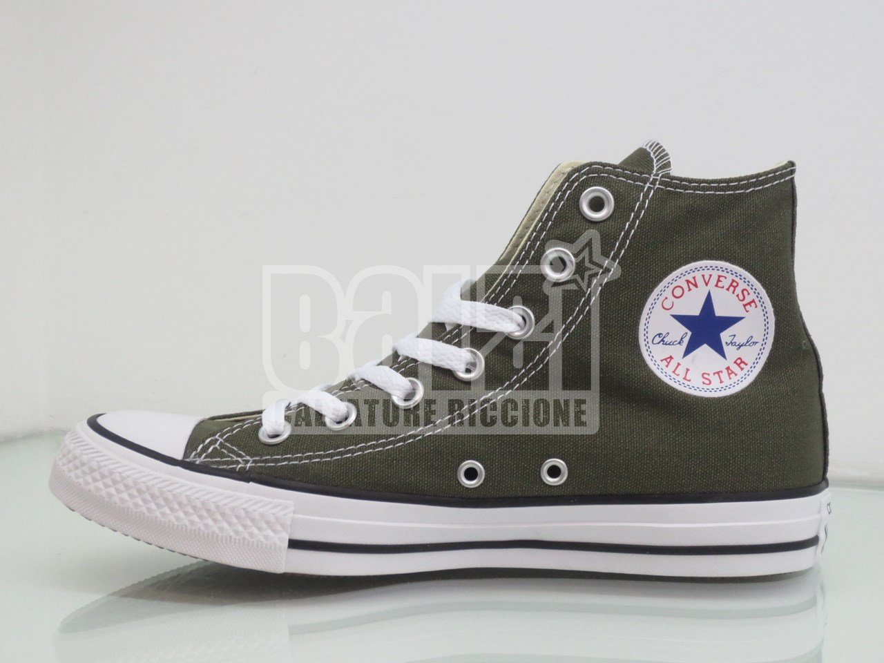 converse all star verde alte