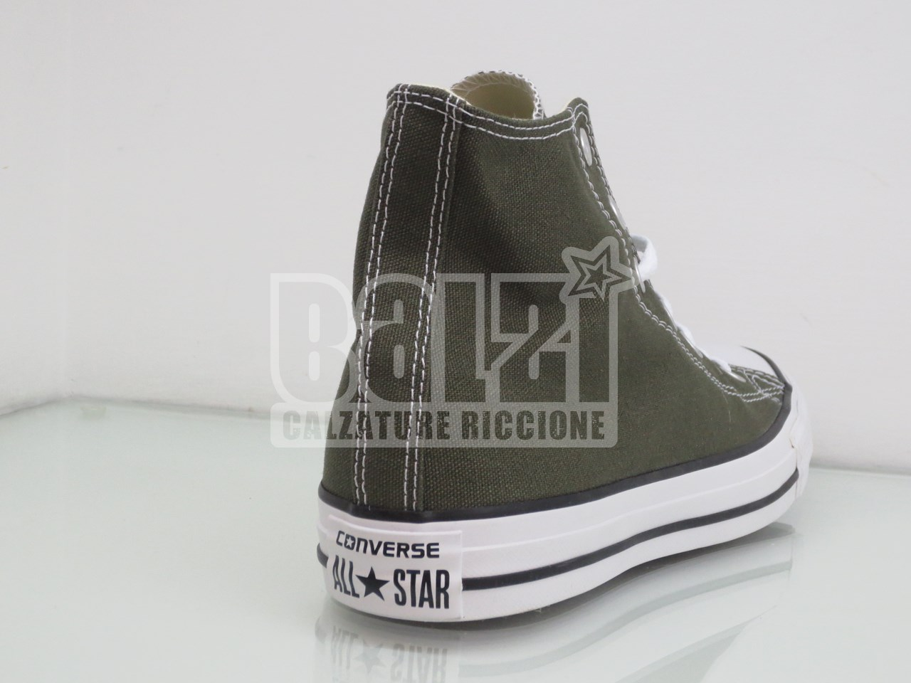 converse all star alte verde