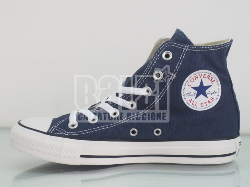 converse all star alte azzurre