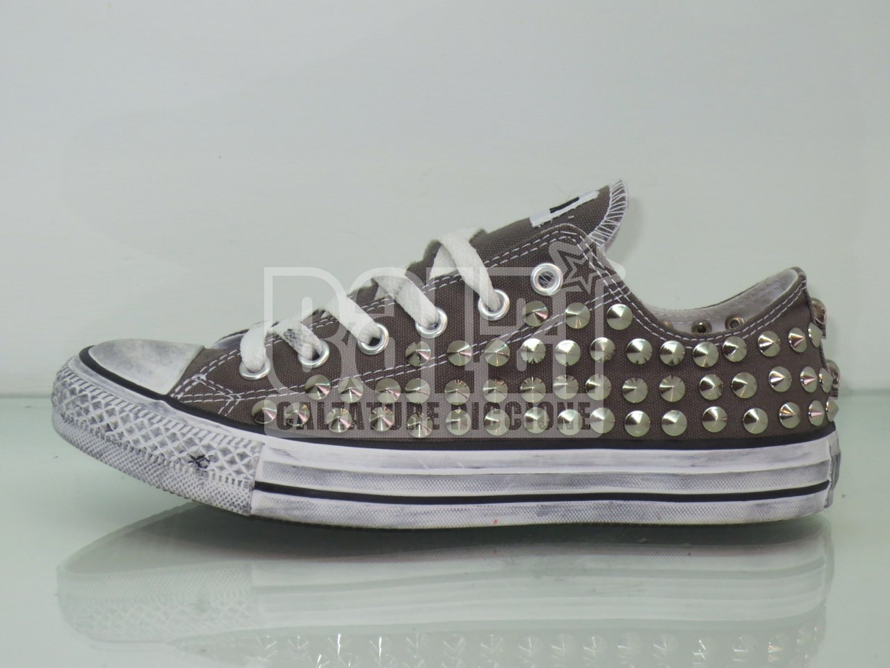 converse all star basse grigio