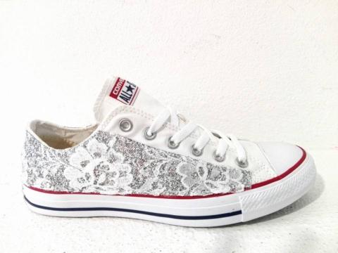 scarpe converse pizzo