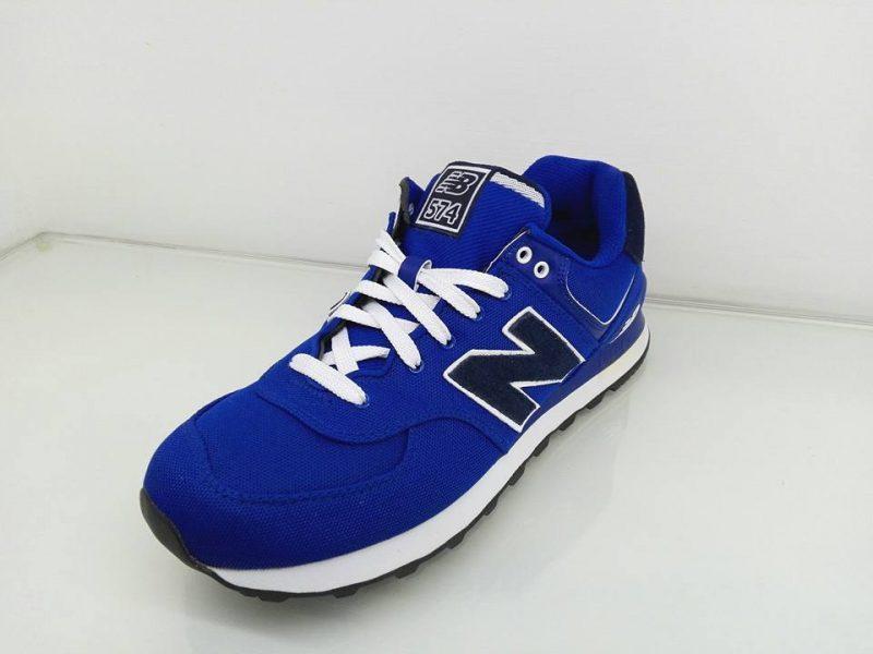 new balance 574 uomo ml574 blu