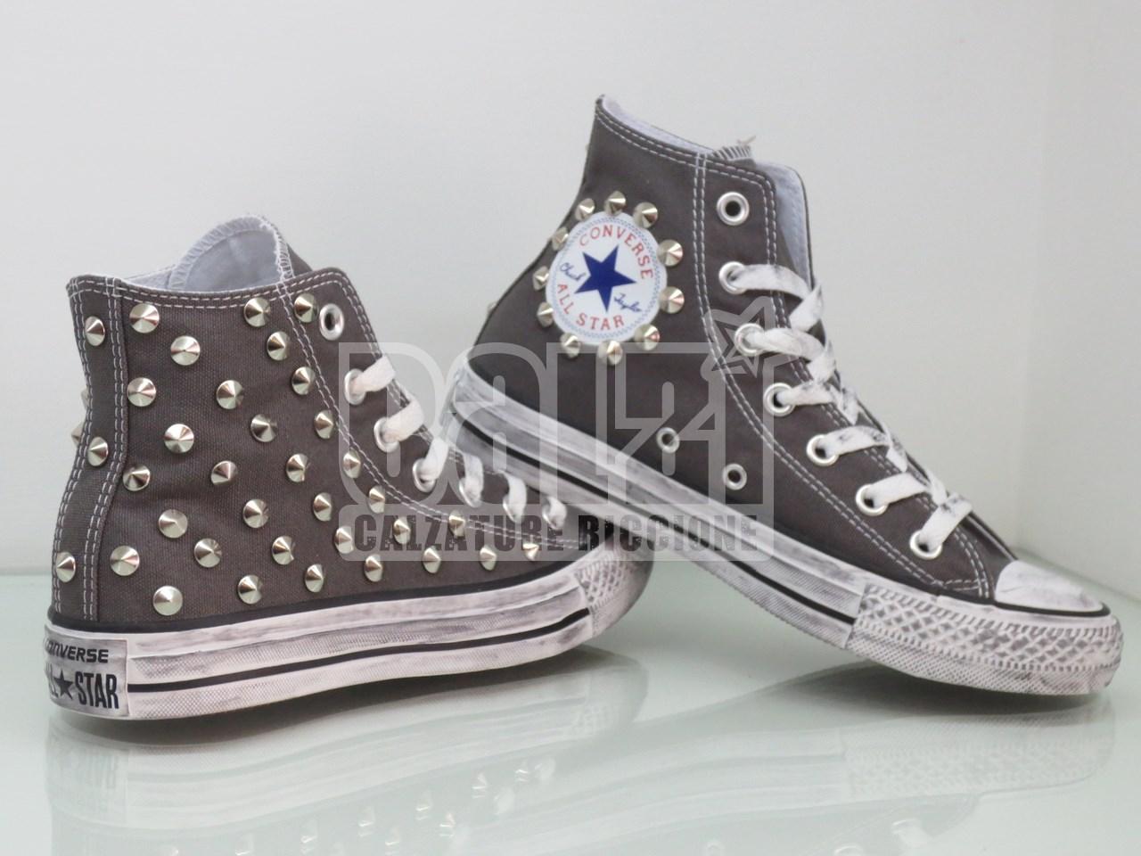 all star converse con borchie