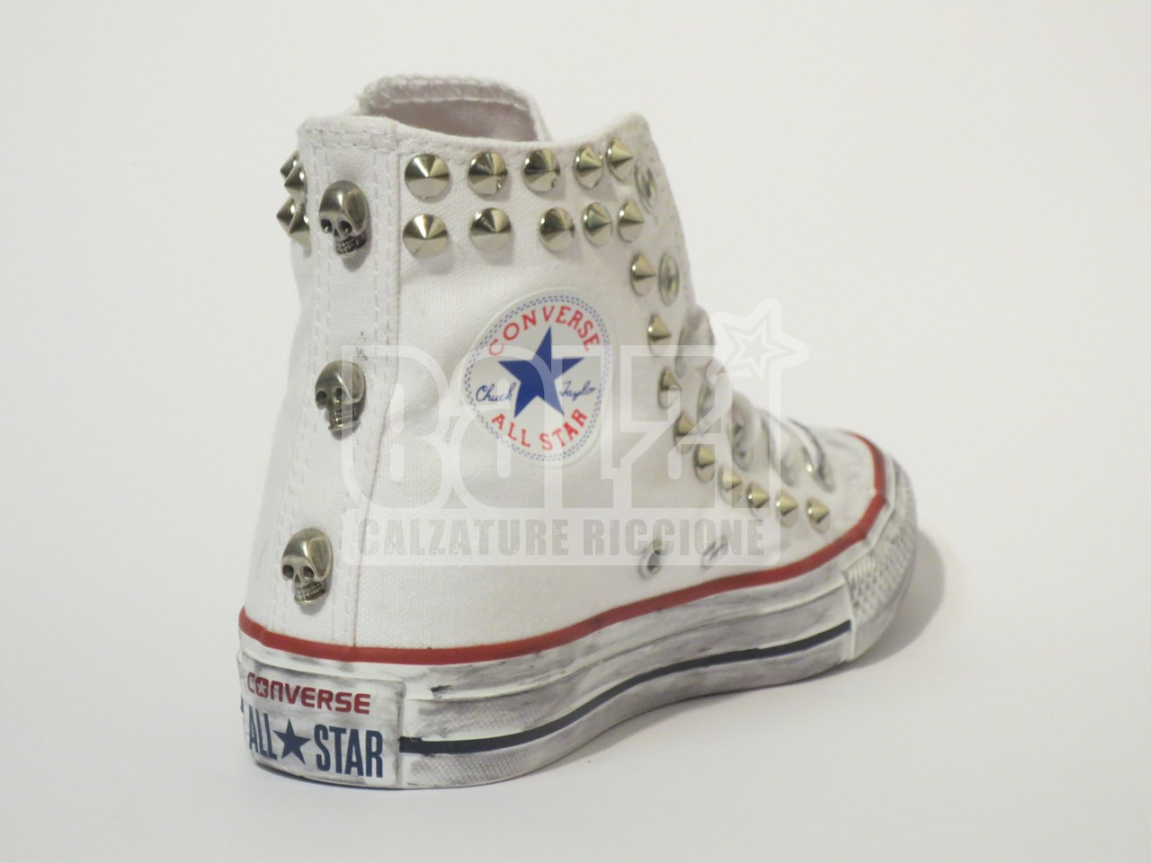 all star converse teschio