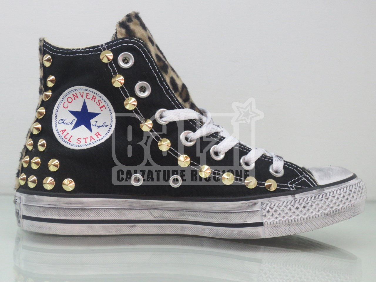 2all star converse alte nero
