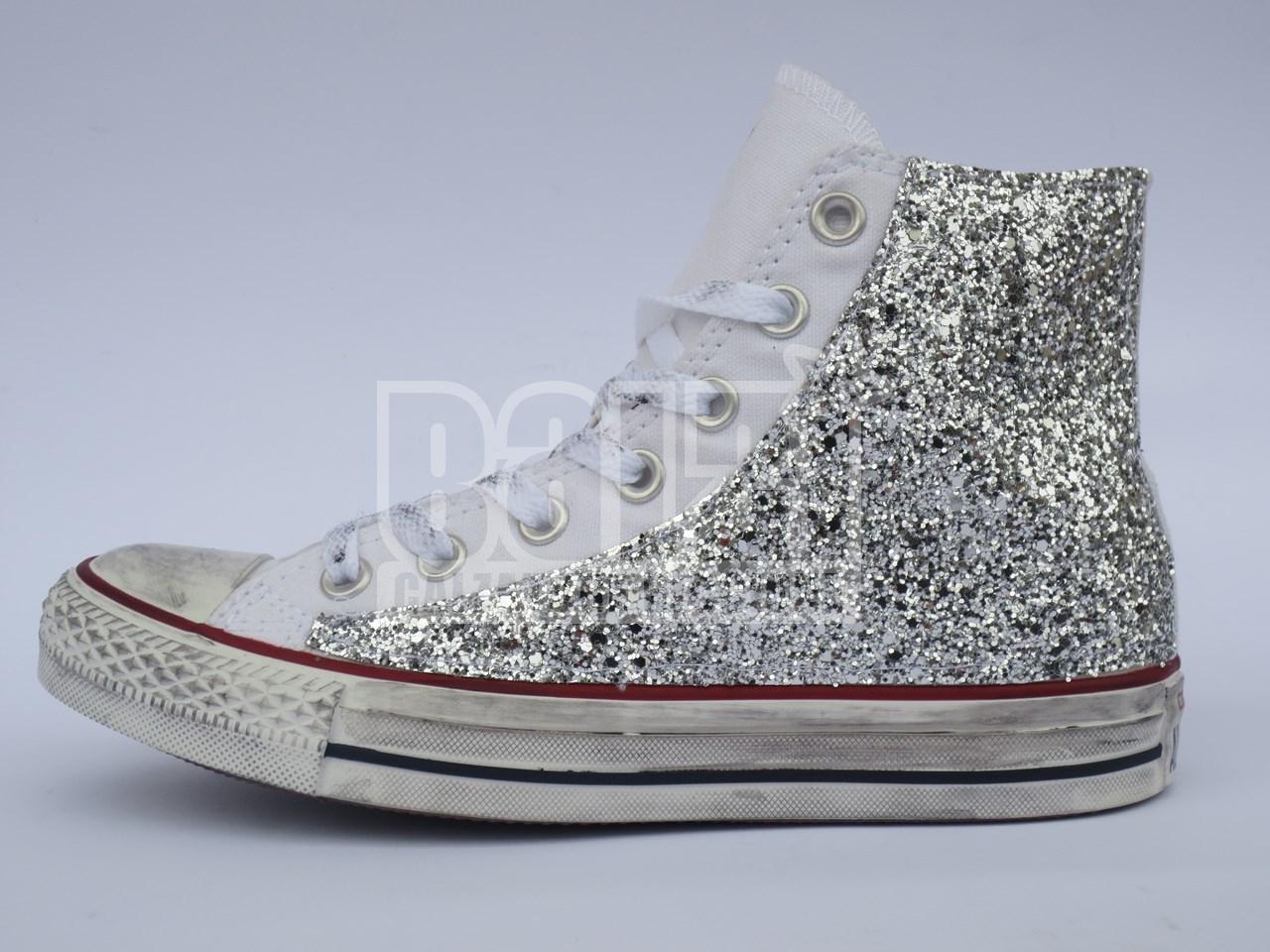 converse all star bimba glitter