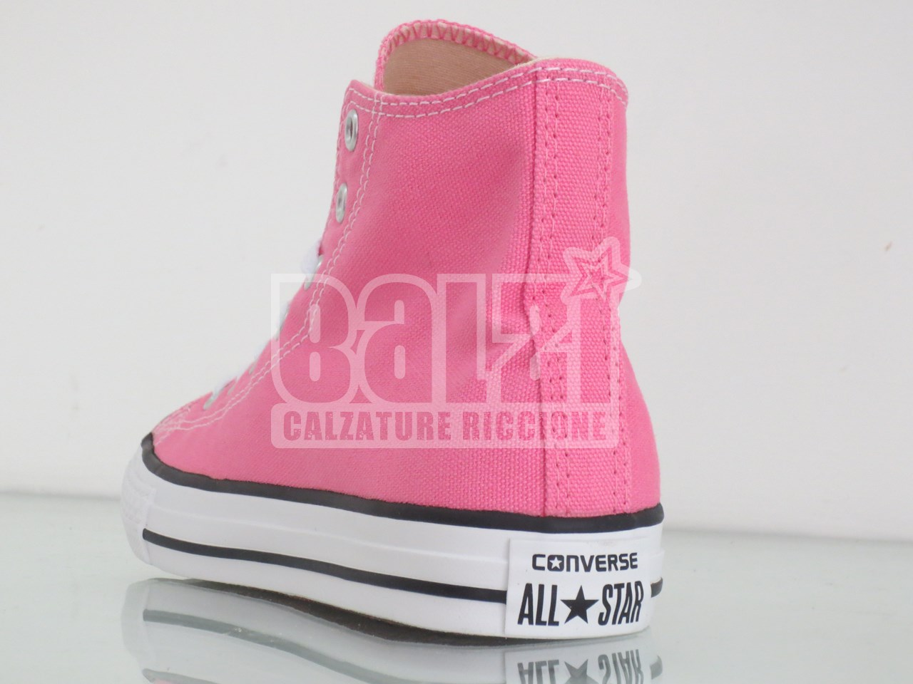 converse rosa zeppa
