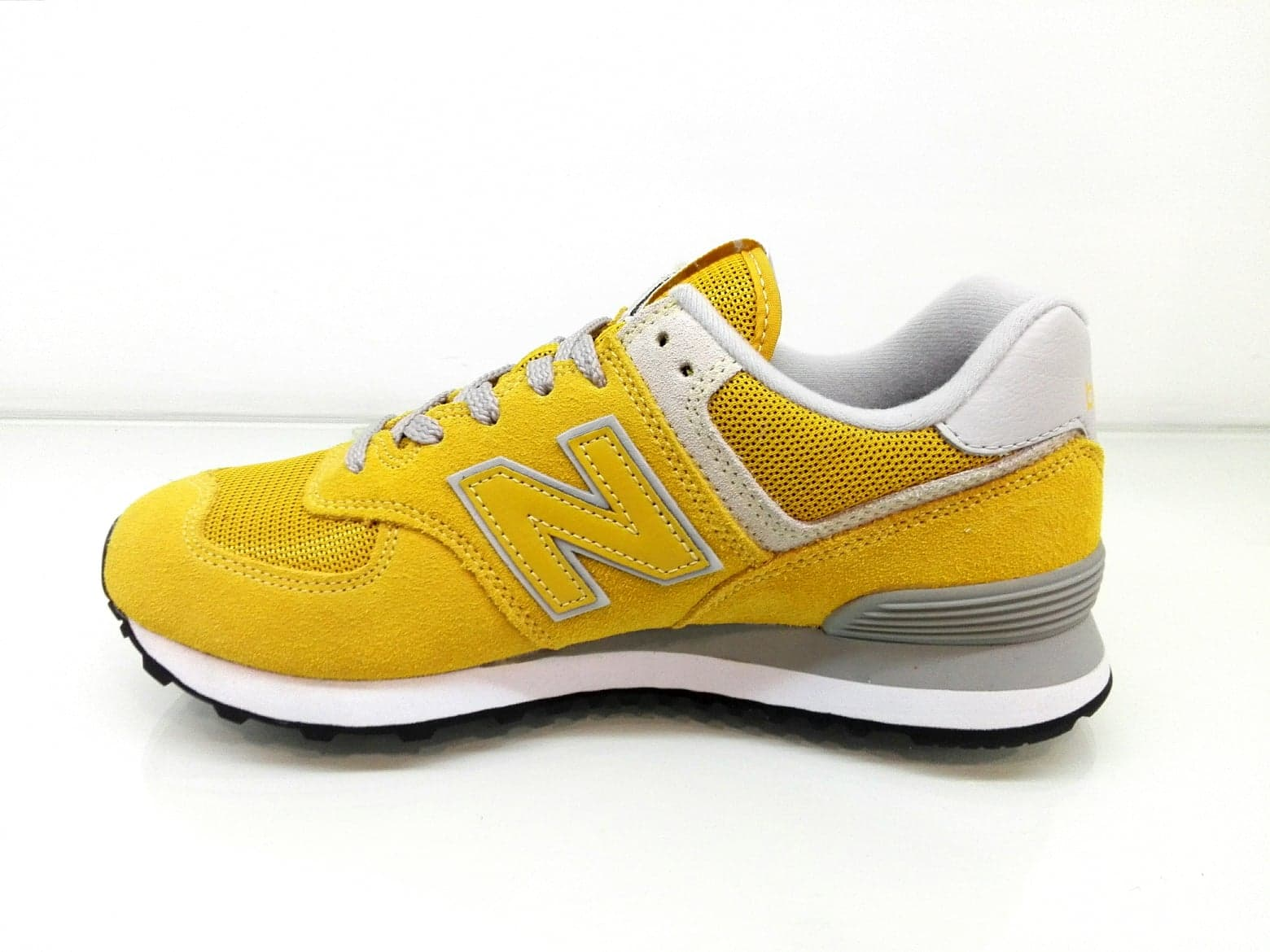 new balance 574 gialle
