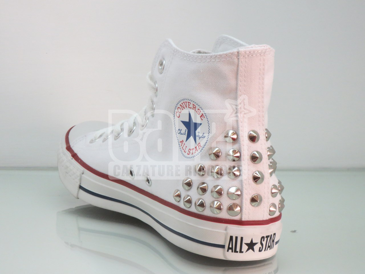 converse all star bianche bambina