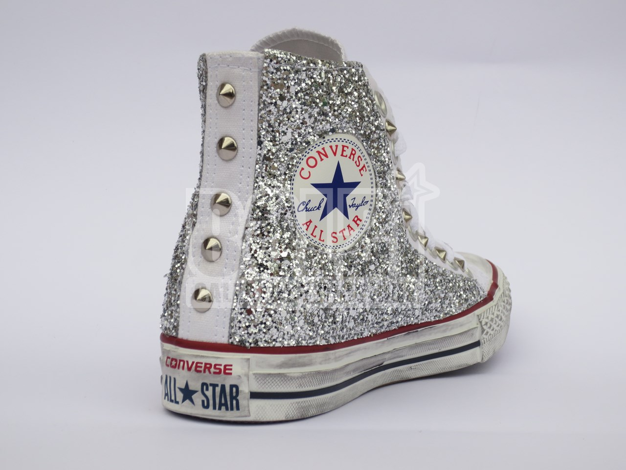 scarpe donna converse all star glitter