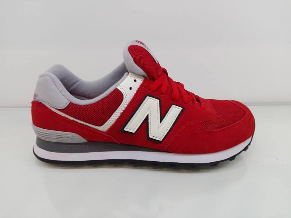 574 new balance uomo rosse