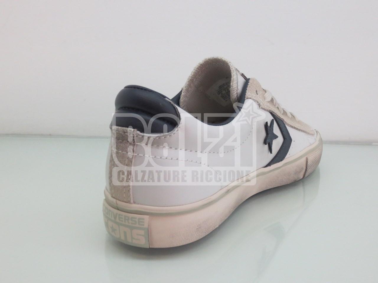 f10f642ef405 Leather Bianco Converse Online Calzature Balzi Vendita Blu Pro qwafndIt