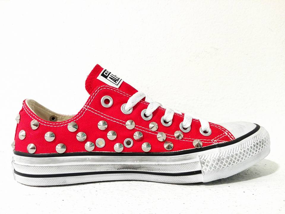 2converse all star rosse