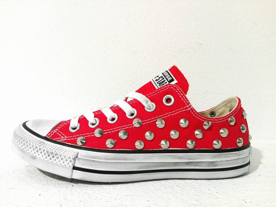 converse all star basse rosse