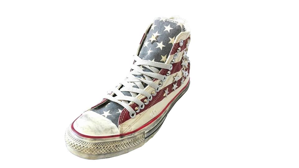 converse americane borchie