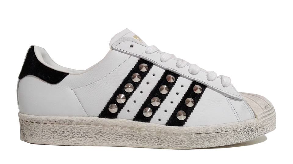 adidas superstar bianche pitonate