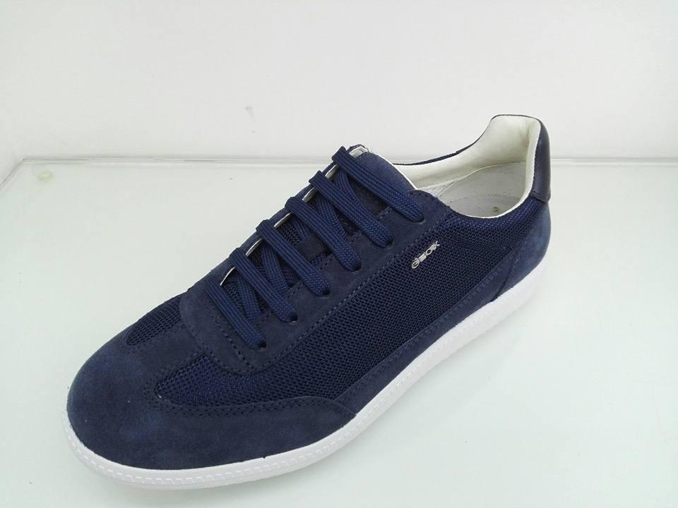 Geox Online Balzi Blu Vendita Uomo Calzature Sneakers gU5vPvqSw