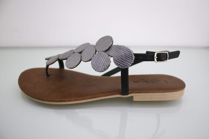 Venta Low Silver línea Mujer Flowers Shoes Sandalia en Balzi Yb6yf7gv