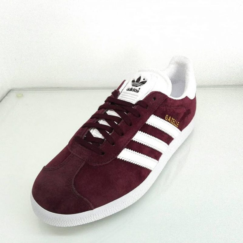adidas gazelle uomo bordo