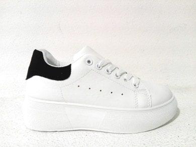 Sneakers Donna Bianche Platform